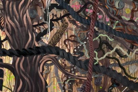 Hidde van Schie Jungle detail