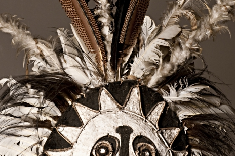 Amazone headdress detail